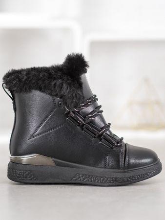 Śniegowce damskie 61308, czarny, 37