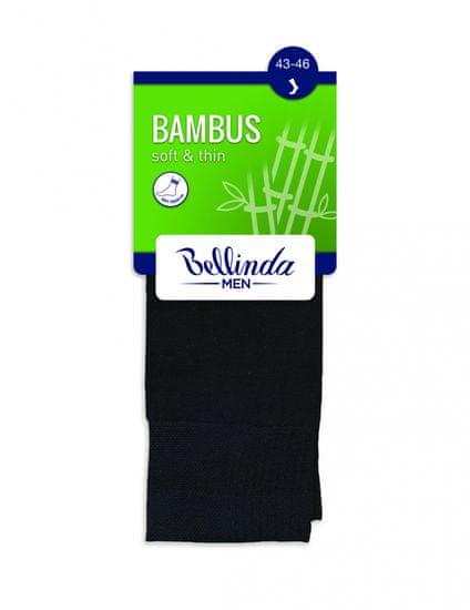 Bellinda Pánské ponožky BAMBUS SOCKS - BELLINDA - šedá 39-42