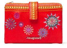 Desigual dámska červená peňaženka Ada Pia Mini 20SAYP56
