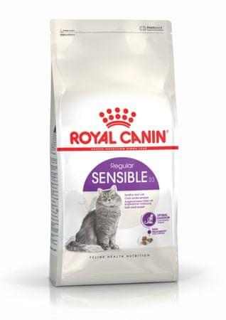 Royal Canin Sensible 33 briketi za mačke, 4 kg
