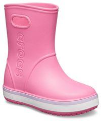 Crocs buty dziewczęce Crocband Rain Boot K Pink Lemonade/Lavender 205827-6QM
