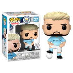 Funko POP! Manchester City figura, Sergio Agüero #27