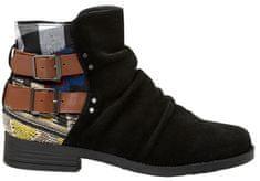 Desigual Dámske členkové topánky Shoes Ottawa Patch Negro 19WSAL01 2000