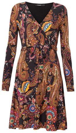 Desigual Női ruhaVest Cira Negro 19WWVKAE 2000 (méret XS)