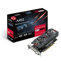 Asus grafična kartica AREZ Radeon RX 560 OC, 4GB GDDR5, DP, HDMI, DVI, gaming
