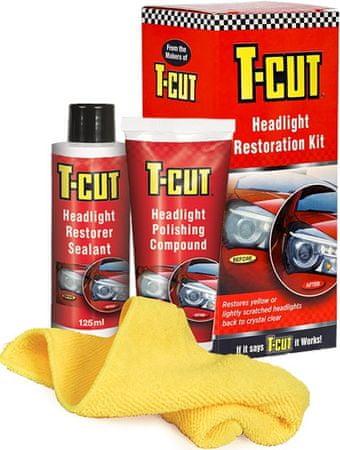 T-Cut set za obnovo žarometov