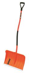 Prosperplast Alpinus lopata za sneg, ergonomski ročaj, oranžna