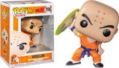 Funko POP! Dragon Ball Z figura, Krillin w/Destructo Disc #706