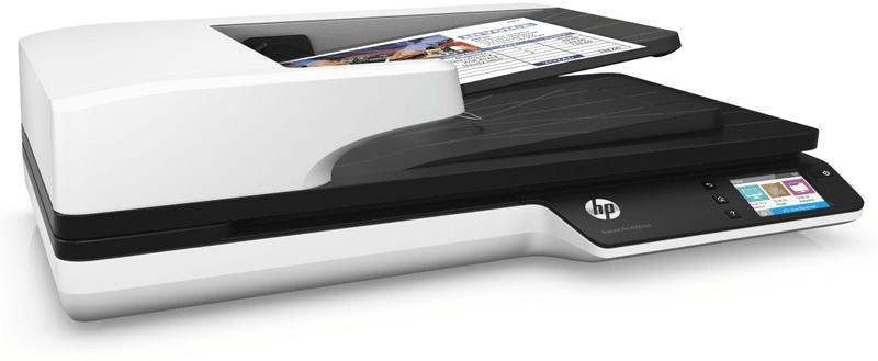 Skener HP ScanJet Pro 4500 fn1 (L2749A) črno-bel, primeren za pisarne
