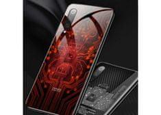 Symfony Pouzdro Symfony pro Xiaomi Mi 9 lite, záda tvrzené sklo, čip