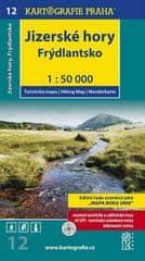 Jizerské hory, Frýdlantsko 1:50 000 - turistická mapa