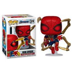 Funko POP! Avengers: Endgame figura, Iron Spider w/Nano Gauntlet #574