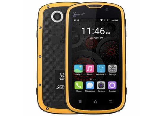 Kenxinda W5 žlutá, LTE, IP68 + SD karta 32 GB
