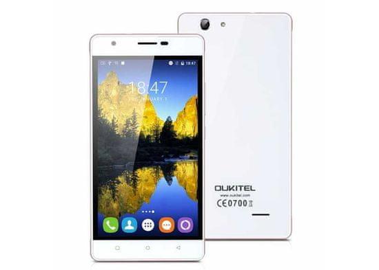 Oukitel C4 bílý LTE, LCD IPS, záruka 25 měsíců a servis