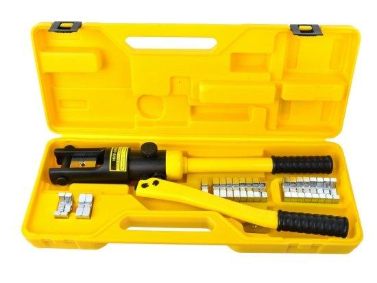 GEKO Krimpovací nářadí na kabely, hydraulické, 18 t, 10-300 mm2
