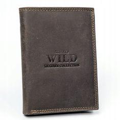 Always Wild Kožená peněženka pro pány Erik, hnědá