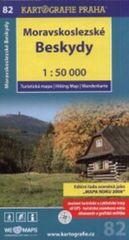 Moravskoslezské Beskydy 1:50 000 - turistická mapa