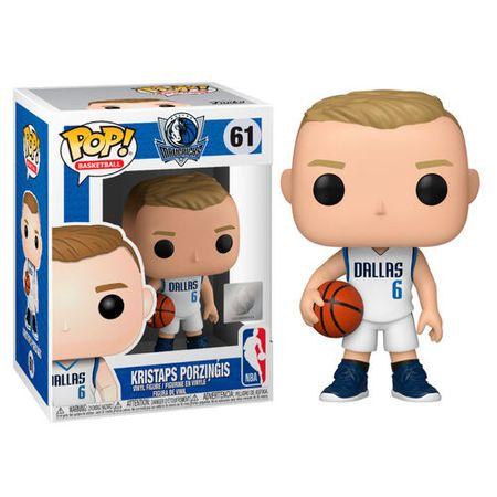 Funko POP! NBA: Dallas Mavericks figura, Kristaps Porziņģis #61
