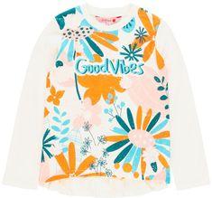 Boboli Dievčenské tričko dlhý rukáv