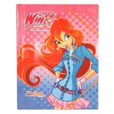 Winx Club Dosky s gumičkou Winx Club, Dosky 25x35 s gumičkou Bloom jeansové šaty ružová