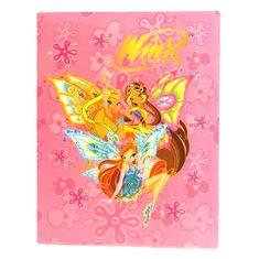 Winx Club Dosky na dokumenty A4 Winx Club, Dosky na dokumenty A4 10 vreciek WinX s krídlami svetloružová
