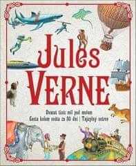 Jules Verne - Dvacet tisíc mil pod mořem, Cesta kolem světa za 80 dní, Tajuplný ostrov