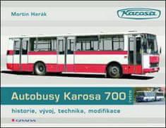 Autobusy Karosa 700 - historie, vývoj, technika, modifikace