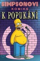 Matt Groening: Simpsonovi Komiks k popukání