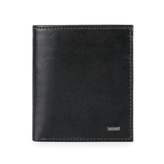 Pánská kožená peněženka 215077-601 černá