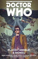 Robbie Morrison: Desátý Doctor Who Plačící andělé z Monsu - Doctor Who
