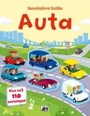 Auta - Samolepková knížka