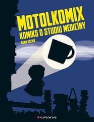 Adam Kalina: Motolkomix - Komiks o studium medicíny