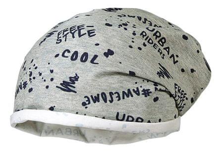 Maximo czapka przejściowa chłopięca 53 szara