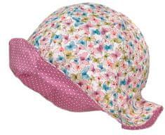 Maximo dívčí oboustranný klobouček