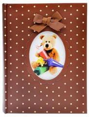 KPH Fotoalbum Child hnedé 10x15