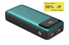 Platinet PMPB10XL, prijenosna baterija, 10000 mAh, zelena