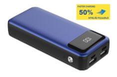 Platinet PMPB10XL, prijenosna baterija, 10000 mAh, plava
