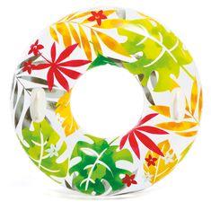 Intex 58263 Kruh na vodu 97 cm barevné listy