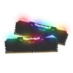 Patriot Viper RGB memorija (RAM), 16 GB (2x 8 GB), DDR$, 2666 DIMM (PVR416G266C5K)