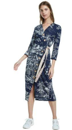 Desigual Sukienka damska Pacific Dream XS granatowa