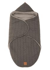 """Kaiser KAISER - Zavinovacia deka """"Wrappy Knitty"""" super soft - Anthrazit"""