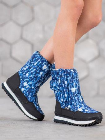 Női hótaposó 61521 + Nőin zokni Sophia 2pack visone, kék árnyalat, 38