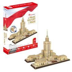 CubicFun Palác kultúry a vedy, Varšava 3D 144 dielikov