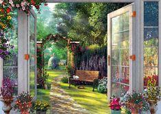 Schmidt Davison: Pohľad do očarujúcej záhrady 1000 dielikov