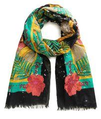 Desigual dámska viacfarebná šatka Flower Ban 20SAWA30