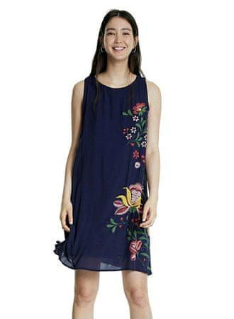 Desigual Anjou női ruha 20SWVW55, 46, sötétkék