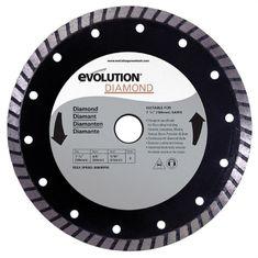 Evolution řezný kotouč s diamanty, 185 mm