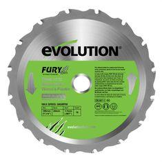 Evolution řezný kotouč, 185 mm