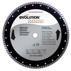 Evolution řezný kotouč s diamanty, 355 mm
