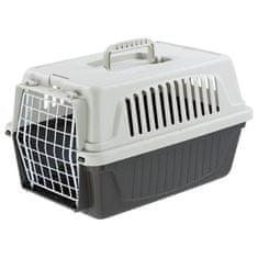 Ferplast přepravní box pro menší mazlíčky - šedý